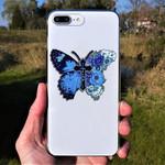 Butterfly Faith Icon Handmade Metal Sign