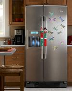 10 Pieces of Dragonfly -  Easy Stick To Refrigerator