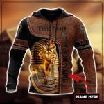 Custom name Pharaoh The God Ancient Egypt 3D design print shirts