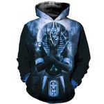 HC3107 Anubis Blue 3D All Over Printed Clothes HC3107 - Amaze Style™-Apparel