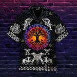 Tree Of Life Viking Symbols Hawaiian Shirt | For Men & Women | Adult | HW4952