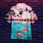 Flamingo Sunset Hawaiian Shirt | For Men & Women | Adult | HW5082