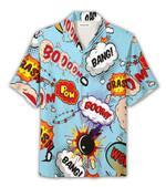 Suprise Explosion Hawaiian Shirt | For Men & Women | Adult | HW8034