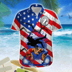 Wrestling American Flag Hawaiian Shirt | For Men & Women | Adult | HW7930