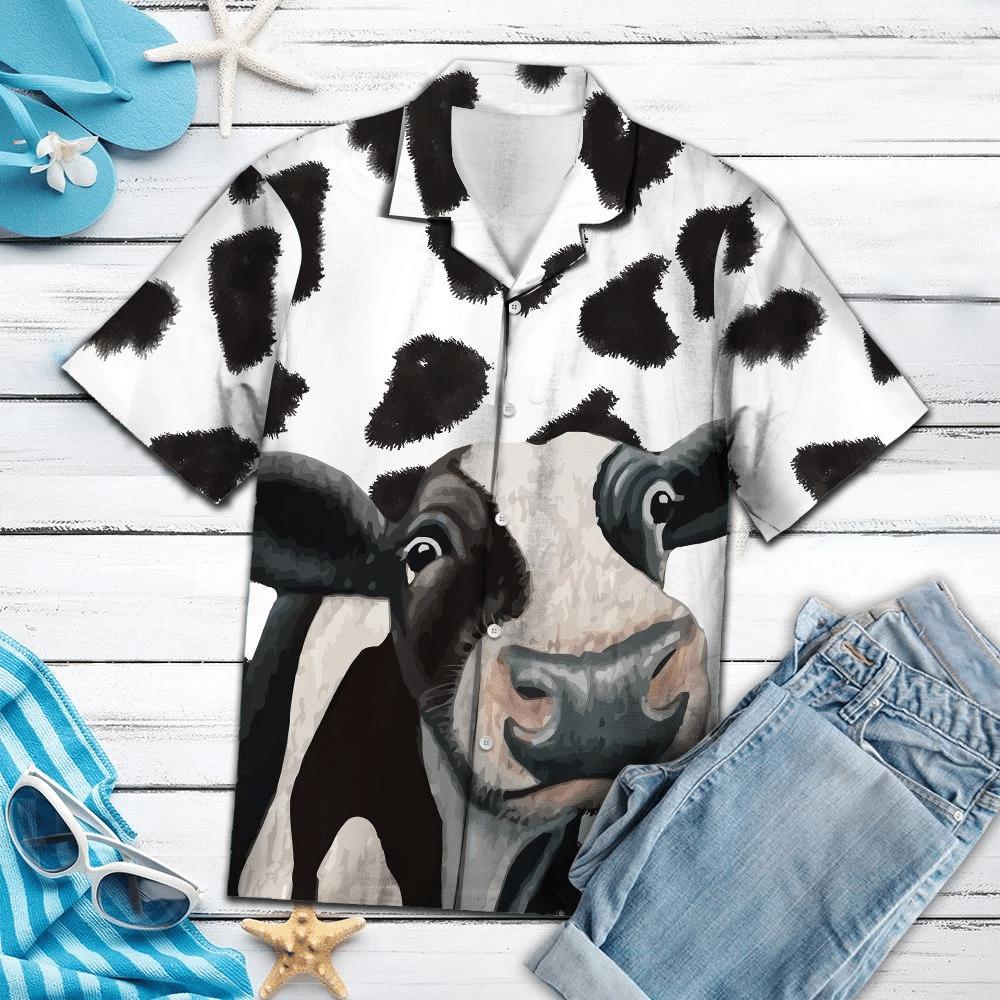 Funny Cow Hawaiian Shirt | For Men & Women | Adult | HW1130