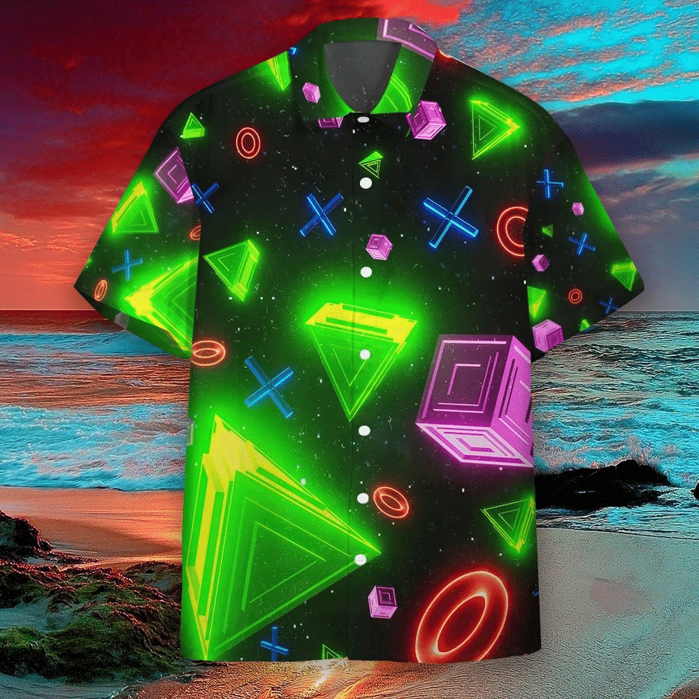 Play Station Hawaiian Shirt | For Men & Women | Adult | HW6157
