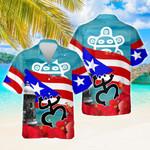 Proud Puerto Rican Hawaiian Shirt | For Men & Women | Adult | HW8081