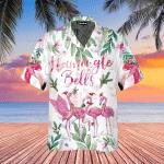 Merry Flamingo On Christmas Day Hawaiian Shirt | For Men & Women | Adult | WT1520