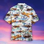 The Beautiful Flying Warbirds Hawaiian Shirt | For Men & Women | Adult | WT1416