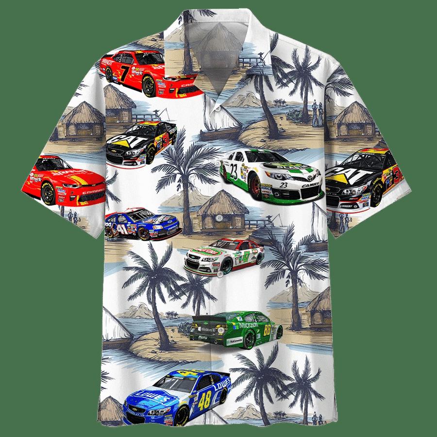 Racing Car Hawaiian Shirt | For Men & Women | Adult | HW7896