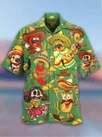 Mexican Festival Taco Hawaiian Shirt   For Men & Women   Adult   HW3949