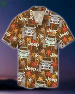 Jeep Palm Tree Hawaiian Shirt   For Men & Women   Adult   HW8017