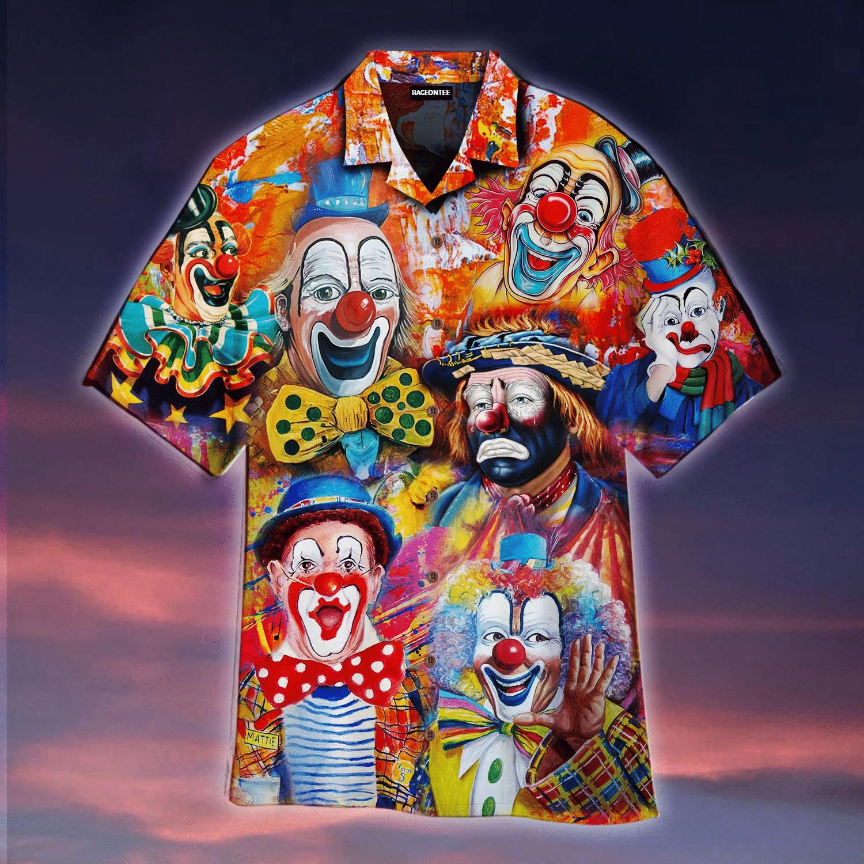 Clown Lovers Hawaiian Shirt   For Men & Women   Adult   HW4940