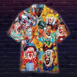 Clown Funny Happy Hawaiian Shirt | For Men & Women | Adult | WT1333