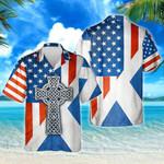 Scottish American Heritage Hawaiian Shirt | For Men & Women | Adult | HW8080