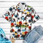 Bigfoot Camping Hawaiian Shirt | For Men & Women | Adult | HW3264