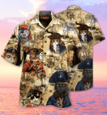 Amazing Pirate Cat Hawaiian Shirt   For Men & Women   Adult   HW1629