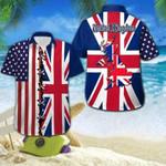 United Kingdom Flag Hawaiian Shirt   For Men & Women   Adult   HW3866