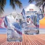 Never Forget 9/11 Hawaiian Shirt   For Men & Women   Adult   HW8107