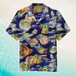 Baby Yoda Awesome Hawaiian Shirt   For Men & Women   Adult   HW6225