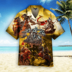 True Knights Never Give Up Hawaiian Shirt   For Men & Women   Adult   HW4962