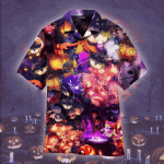 Halloween Night With Pokemon Hawaiian Shirt   For Men & Women   Adult   WT1147