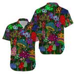 Hippie Vintage Trippy Mushroom Hawaiian Shirt | For Men & Women | Adult | HW8251