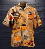 Love Coffee Brown Hawaiian Shirt   For Men & Women   Adult   HW2284