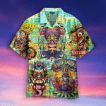 Tiki Creature Tantrum Hawaiian Shirt | For Men & Women | Adult | WT1406