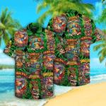 Aloha Tiki Tiki Hawaiian Shirt   For Men & Women   Adult   HW4242
