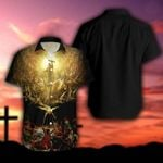 Jesus Christian Cross Hawaiian Shirt | For Men & Women | Adult | HW6098