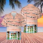 Airlines Bombardier Hawaiian Shirt   For Men & Women   Adult   HW7682