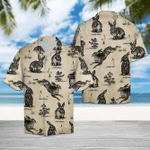 Vintage Rabbit Hawaiian Shirt | For Men & Women | Adult | HW6772