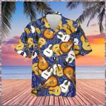 Guitar Music Pattern Hawaiian Shirt   For Men & Women   Adult   HW7378
