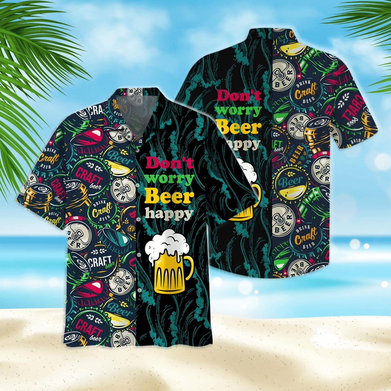 Beer Happy Hawaiian Shirt | For Men & Women | Adult | HW7231