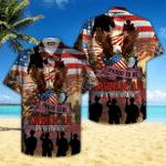 Proud To Be American Veteran Hawaiian Shirt | For Men & Women | Adult | HW4746