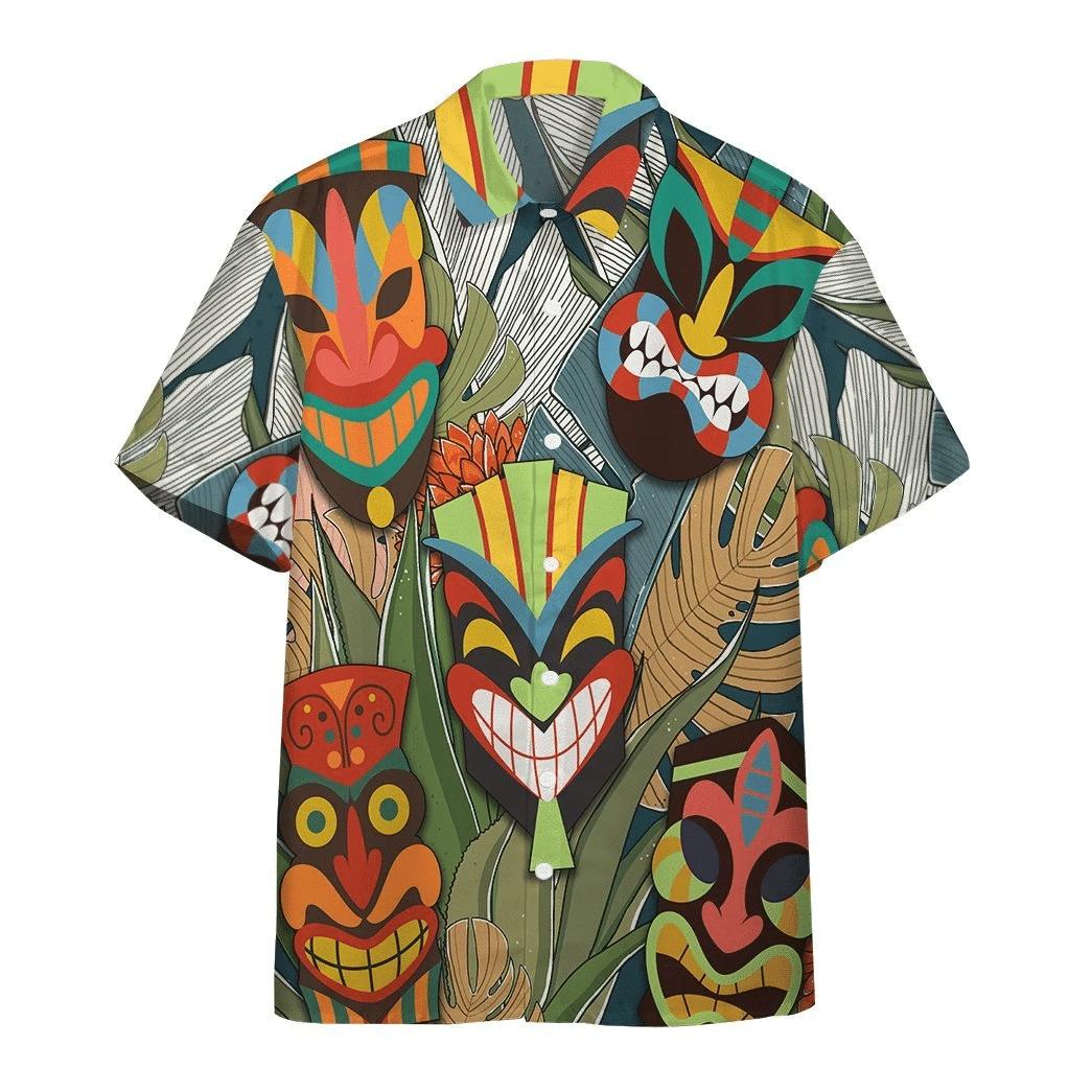 Tiki Head Hawaiian Shirt | For Men & Women | Adult | HW6447