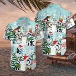 Merry Husky Hawaiian Shirt | For Men & Women | Adult | HW7342