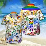 Boxer LGBT Hawaiian Shirt | For Men & Women | Adult | HW6365