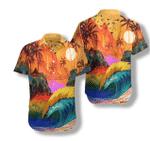 LGBT Sunset Hawaiian Shirt | For Men & Women | Adult | HW7538