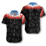 US Flower Vintage Hawaiian Shirt   For Men & Women   Adult   HW6958