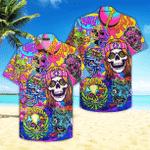 Skull Hippe Peace Life Color Limited Hawaiian Shirt | For Men & Women | Adult | HW4718