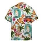 Enjoy Surfing With Retriever Dog Hawaiian Shirt | For Men & Women | Adult | HW6439