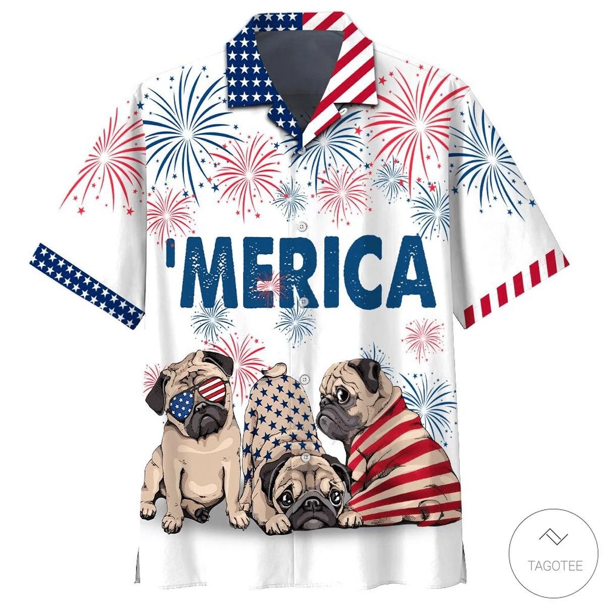 Pug Beer Hawaiian Shirt   For Men & Women   Adult   HW6938