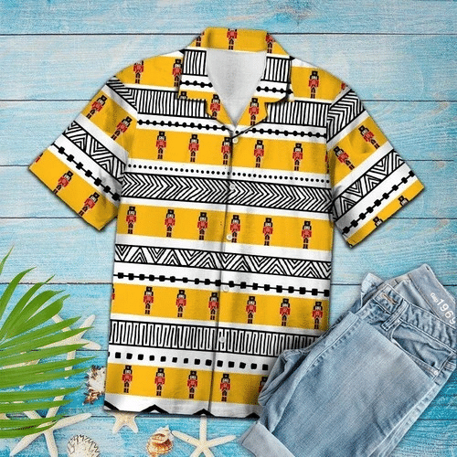 Nutcracker Pattern Hawaiian Shirt | For Men & Women | Adult | HW6410