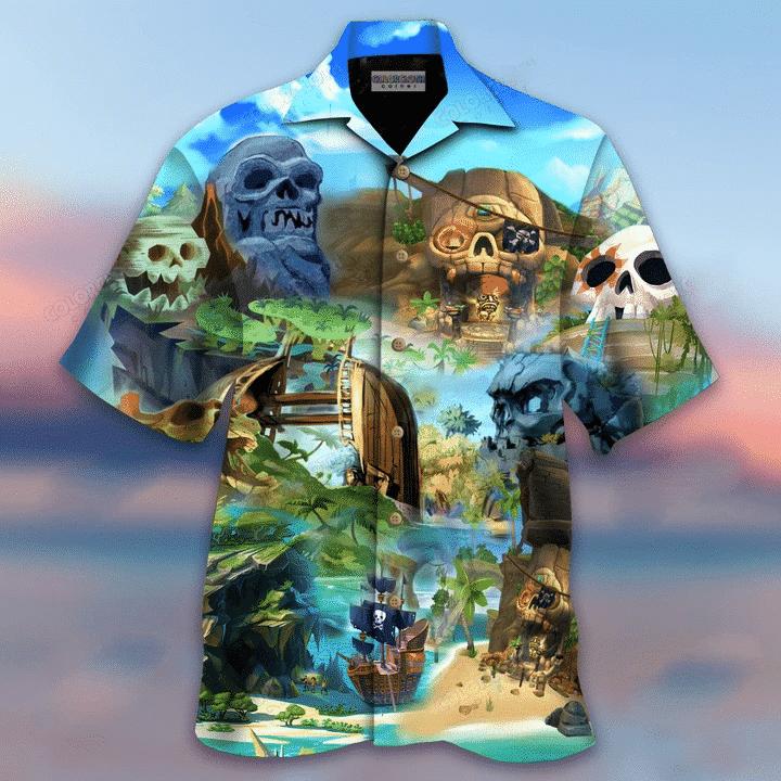 Skull Island Hawaiian Shirt | For Men & Women | Adult | HW6695