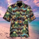 Skull Hawaiian Shirt   For Men & Women   Adult   HW6232