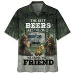 Bear The Best Beers Are The Ones We Drink With Friend Hawaiian Shirt | For Men & Women | Adult | HW7612