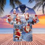 Stay Cool Santa Claus Christmas Hawaiian Shirt | For Men & Women | Adult | WT1004
