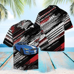 Amazing Blue Sports Car Hawaiian Shirt | For Men & Women | Adult | HW6428